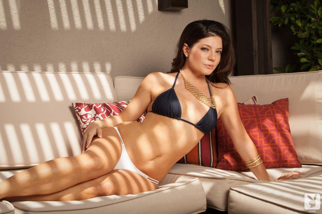beautiful girl female women woman sexy babe model adult brunette bikini j wallpaper