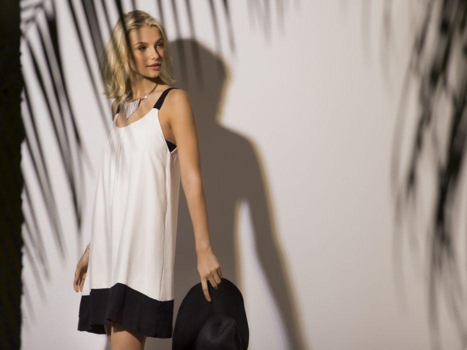beautiful girl female women woman sexy babe model blonde f wallpaper