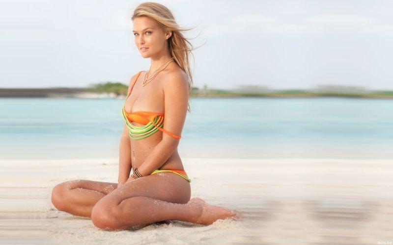 beautiful girl female women woman sexy babe model blonde bikini g wallpaper