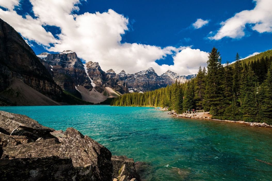 Banff National Park Alberta Canada Lake