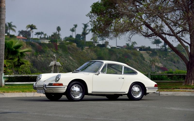 1965 Porsche 356B 912 Prototype cars white wallpaper