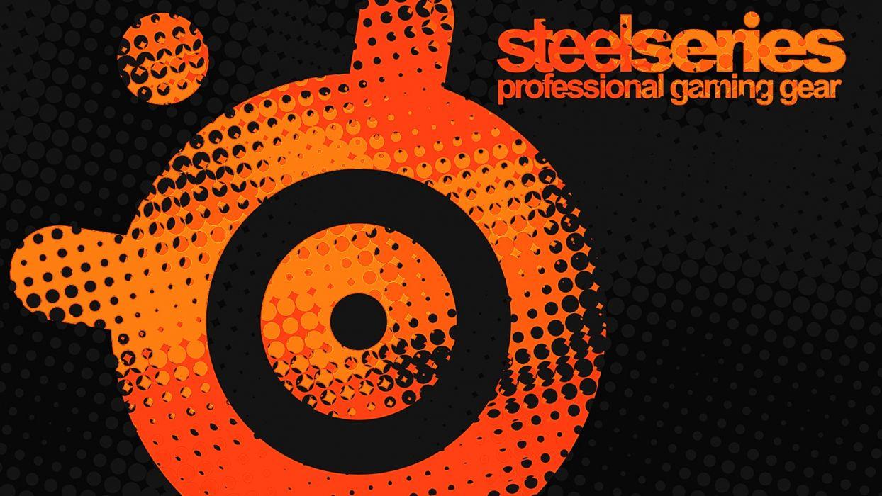 SteelSeries Orange wallpaper