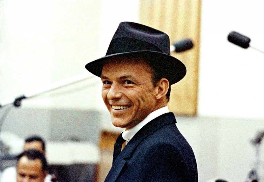 Frank Sinatra Hat singer wallpaper