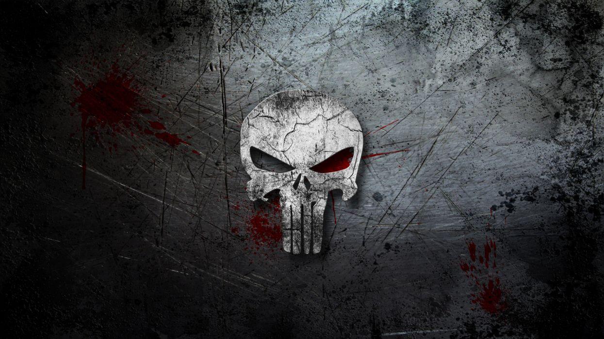 Punisher Marvel Metal Blood wallpaper