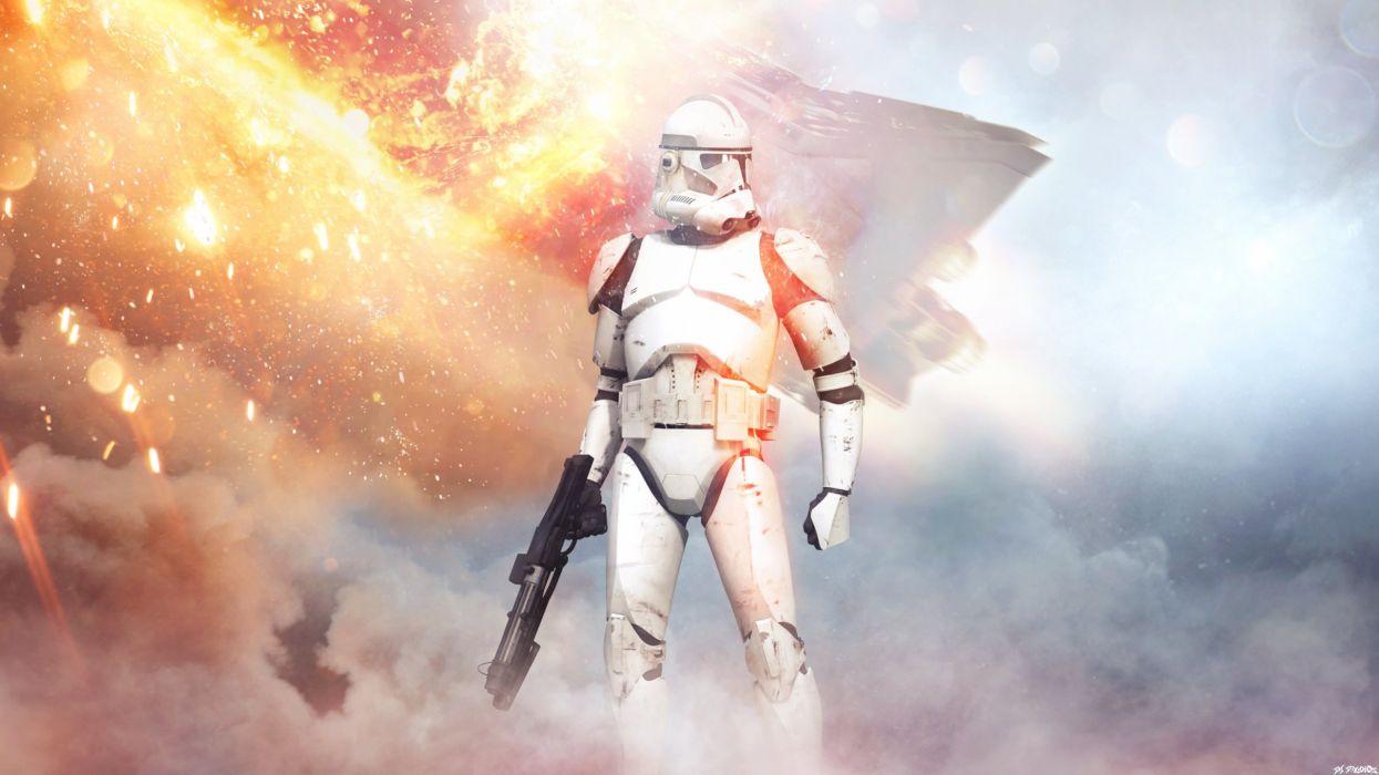 Star Wars Battlefront Stormtrooper Video Games Wallpaper 2560x1440 1003710 Wallpaperup