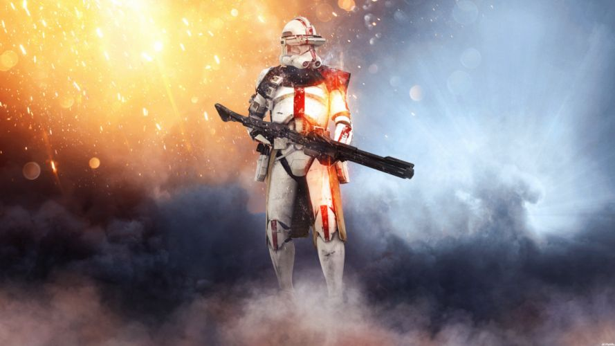 Star Wars Battlefront Stormtrooper Video Games g wallpaper