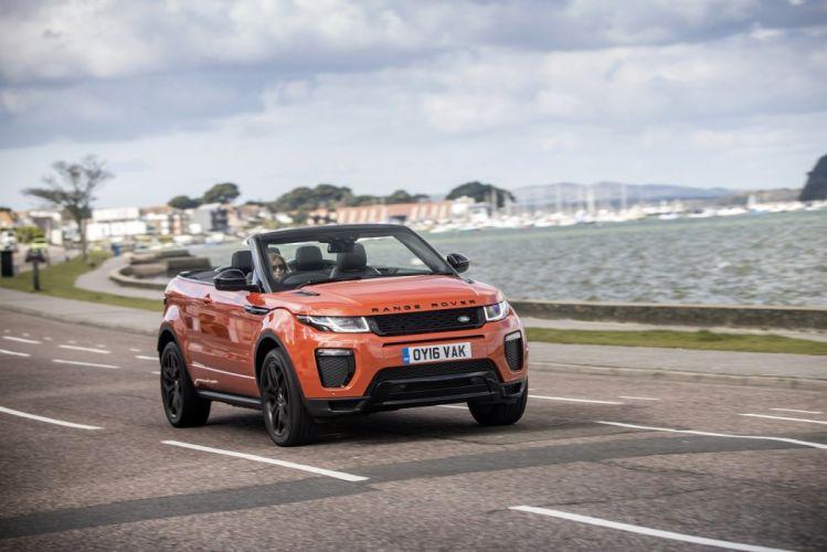 Range Rover Evoque Convertible UK-spec cars suv 2016 wallpaper
