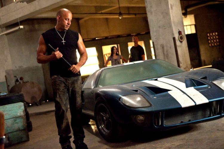 FAST FURIOUS action crime poster race racing thriller tuning hotrod hot rod rods custom car movie vin diesel paul walker film wallpaper