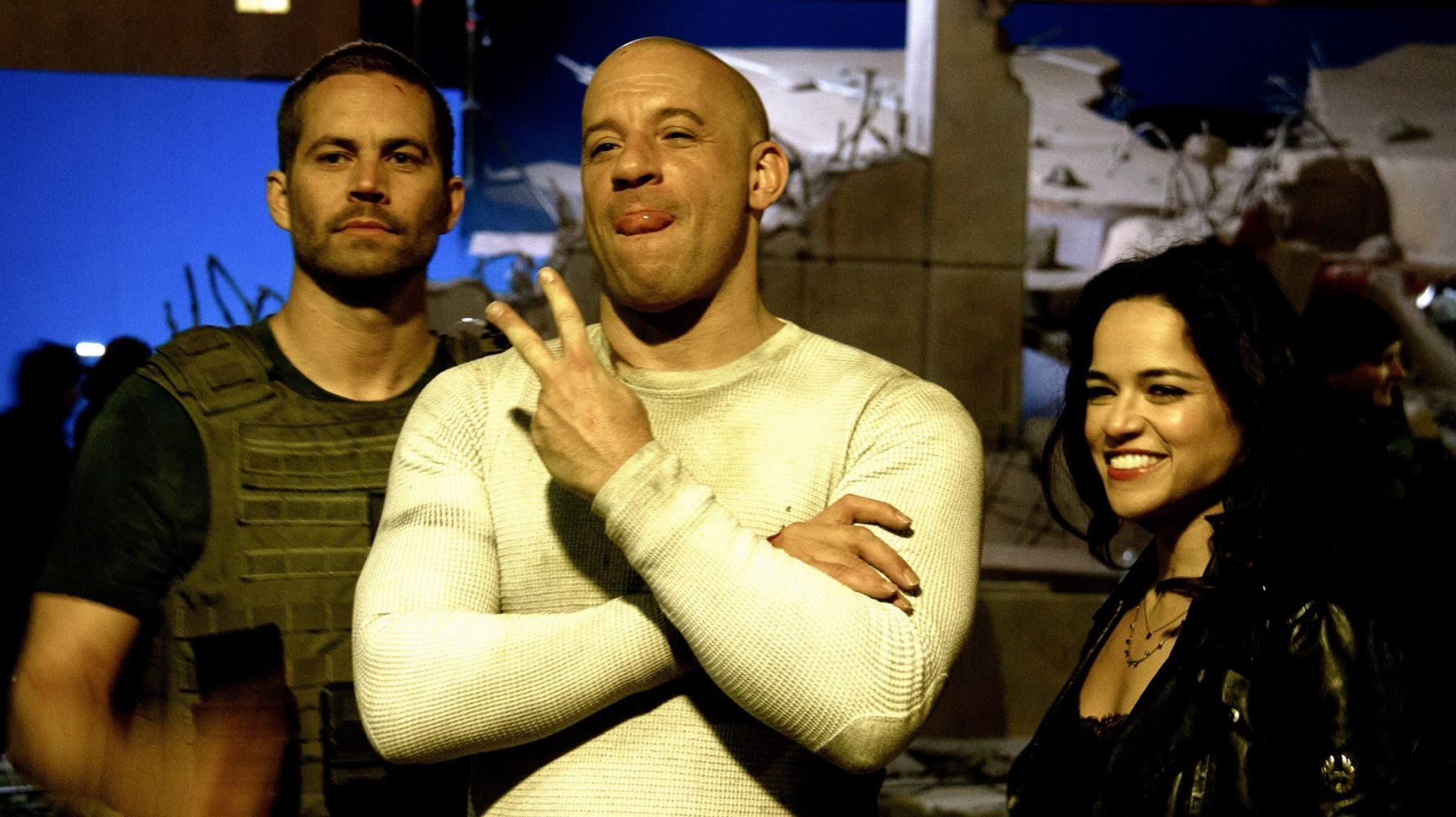 Michelle rodriguez's threat to leave fast and furious franchise wasn't about vin diesel