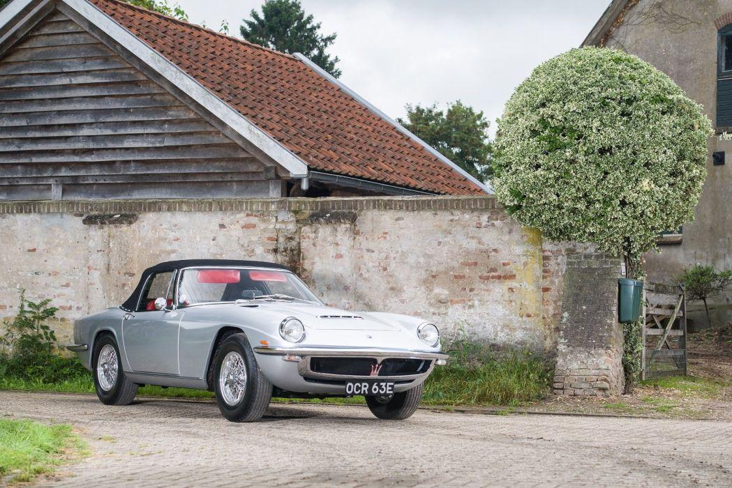 1964 Maserati Mistral Spyder cars classic  wallpaper