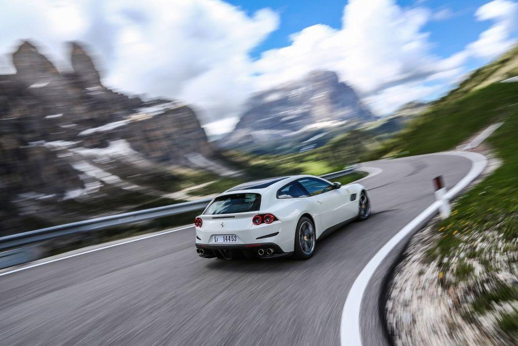 Ferrari GTC4 Lusso cars 2+2 2016 wallpaper