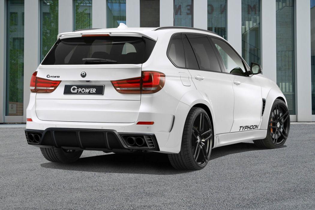 2016 G-Power BMW X5 M Typhoon cars suv modified wallpaper