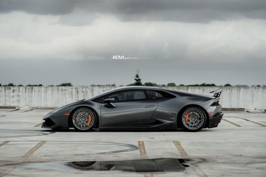 adv1 wheels lamborghini huracan lp610 cars coupe gunmetal wallpaper