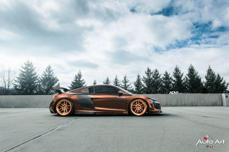 Prior Design Audi R8 V10 coupe cars modified wallpaper