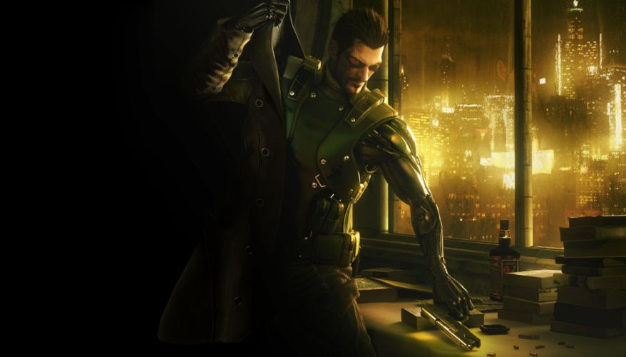 DUES EX cyberpunk divided fps futuristic mankind rpg sci-fi shooter stealth tactical warrior science fiction fighting cyber punk cyborg technics mankind divided human revolution crime wallpaper