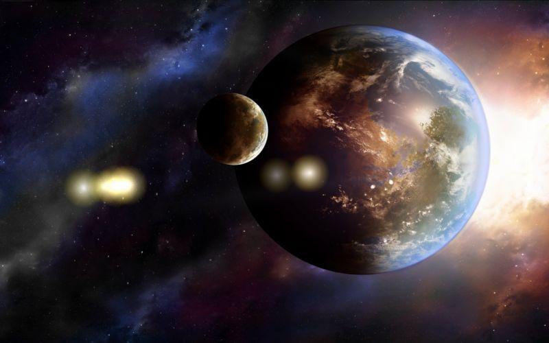 earth art planet galaxy wallpaper