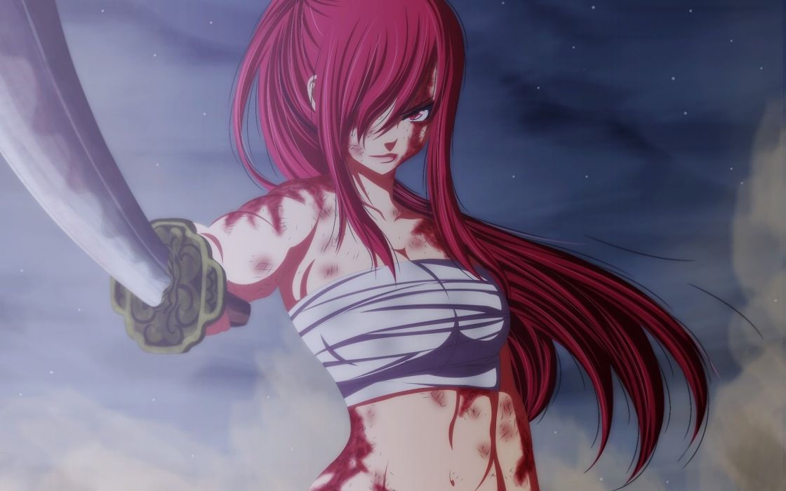 Fairy Tale Of The Tail Erza Scarlet Fairy Tail Art Anime