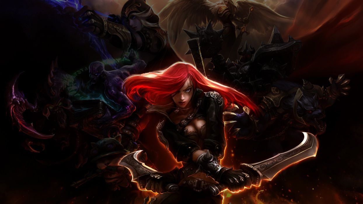 League Of Legends Teemo Kayle Warwick Ryze Katarina The Sinister