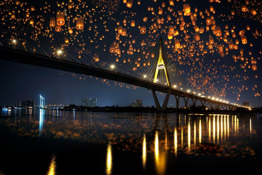 City Lights Wallpaper Chrome