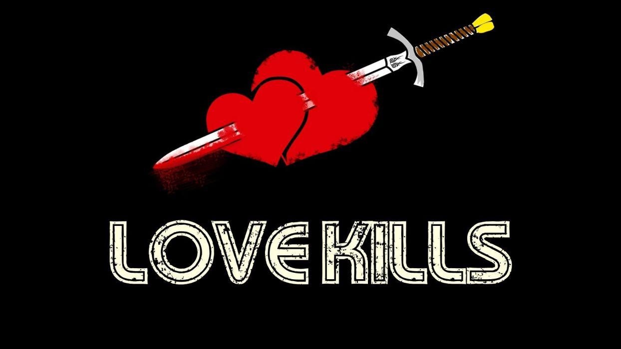 love kills amor wallpaper