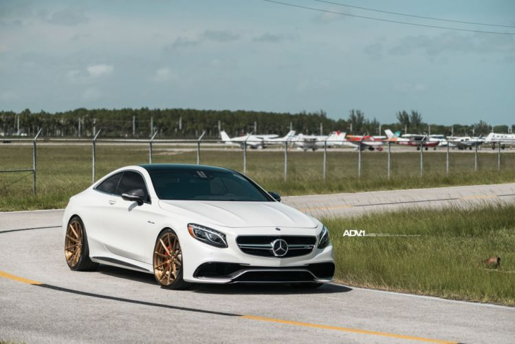WHITE MERCEDES S-CLASS COUPE adv1 wheels cars wallpaper