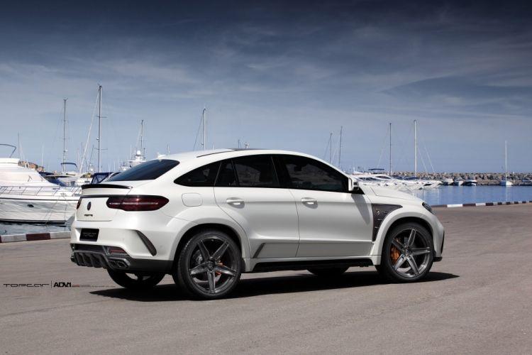 WHITE MERCEDES BENZ GLE adv1 wheels cars suv wallpaper
