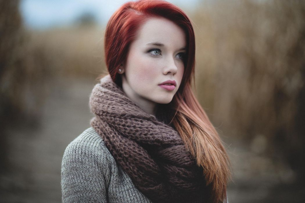 Model picture of redhead pity, that