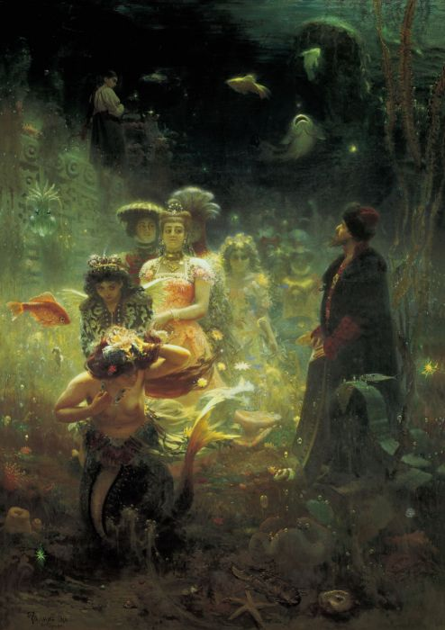 bey fantasy king parade girls mermaids underwater wallpaper