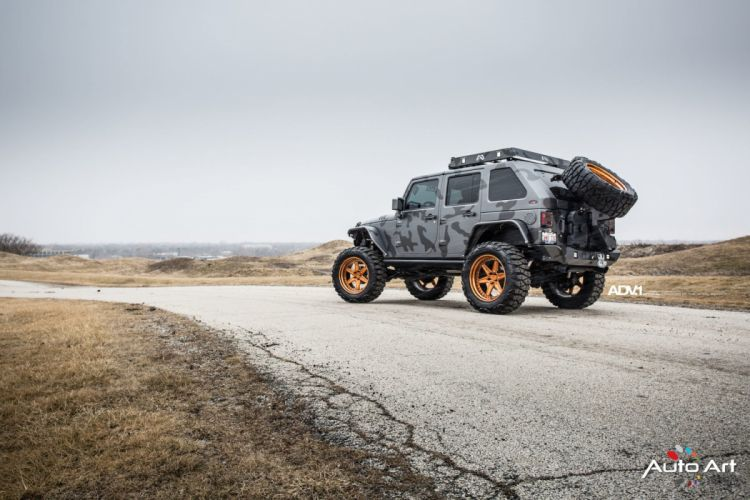 adv1 wheels Jeep wrangler cars 4x4 modified wallpaper