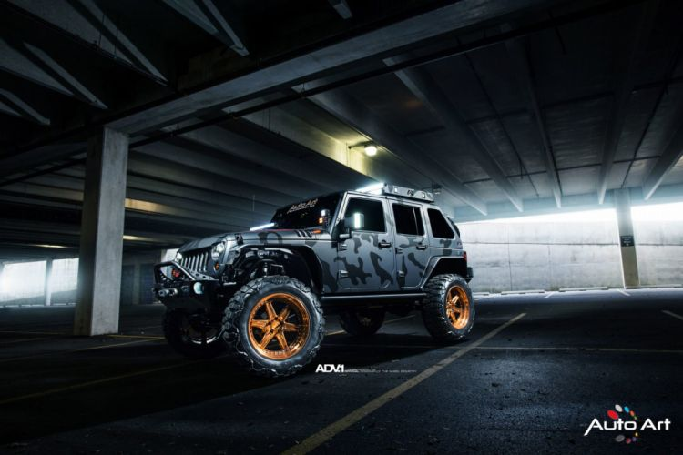 adv1 wheels Jeep wrangler cars 4x4 modified wallpaper