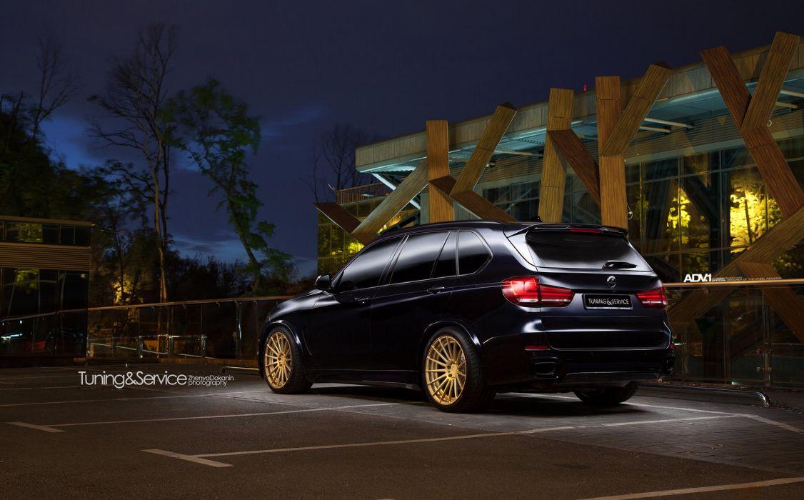 Black BMW X5 adv1 wheels cars suv wallpaper