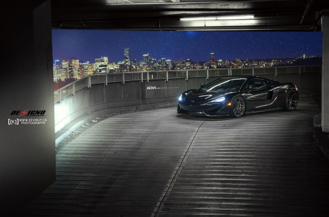 Black Mclaren 570s Wheels Adv1 Cars Wallpaper 2048x1350 1005273 Wallpaperup