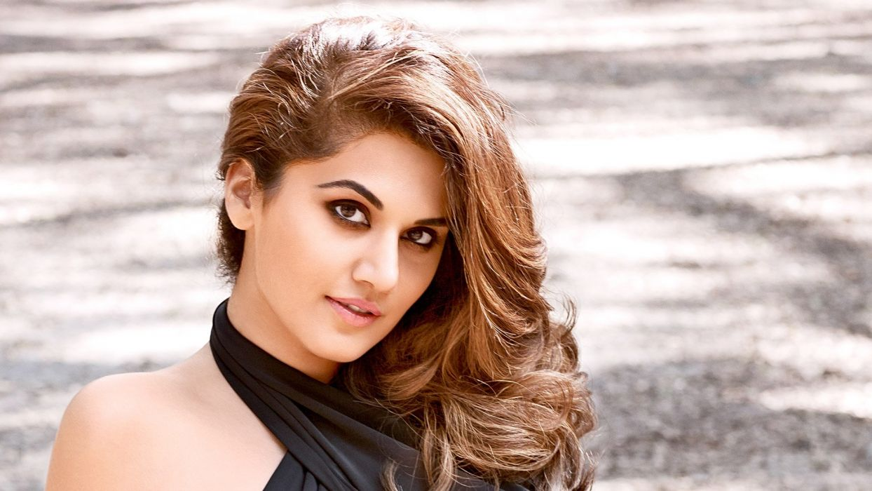 taapsee pannu bollywood actress model girl beautiful brunette pretty cute beauty sexy hot pose face eyes hair lips smile figure indian  wallpaper