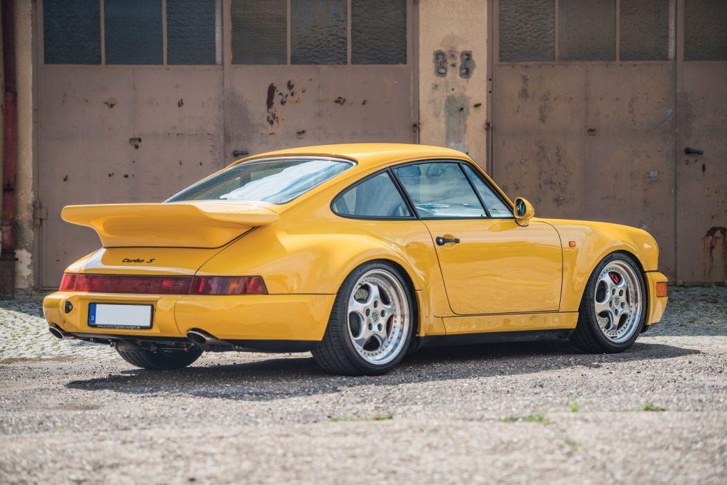 Porsche 911 Turbo S 3 3 Leichtbau Prototyp 964 Cars Yellow 1992 Wallpaper 1480x988 1005467 Wallpaperup