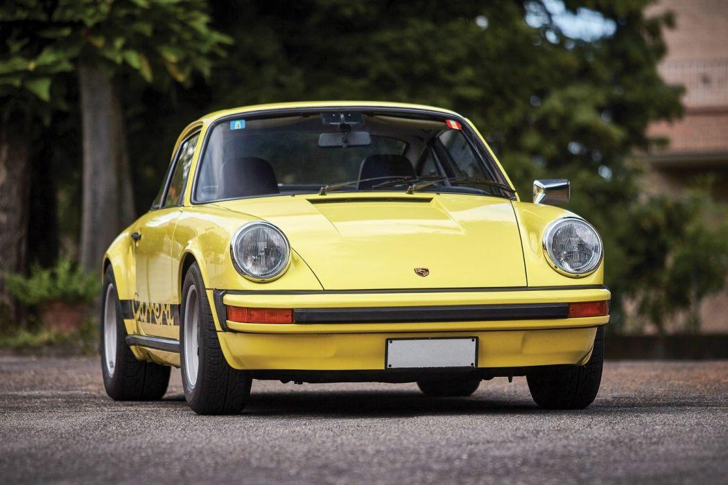 Porsche 911 Carrera (2 7) Coupe (911) cars yellow 1974 wallpaper