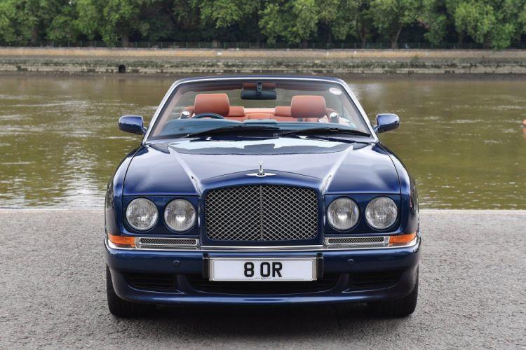 Bentley Azure UK-spec cars convertible cars 1995 wallpaper