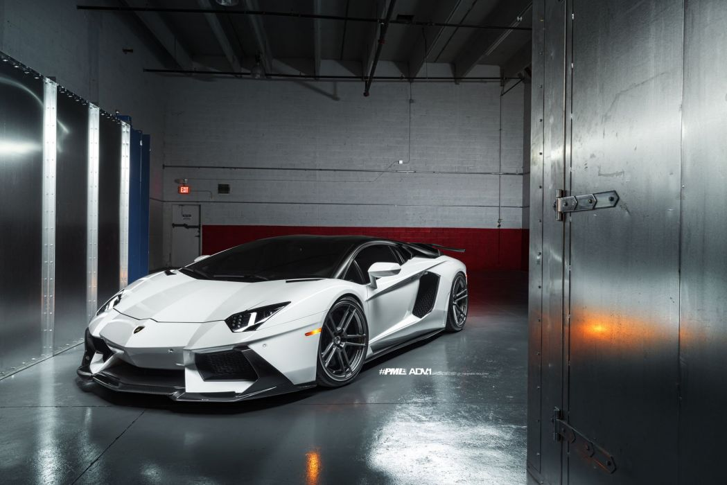 White Lamborghini Aventador LP700 cars adv1 wheels  wallpaper