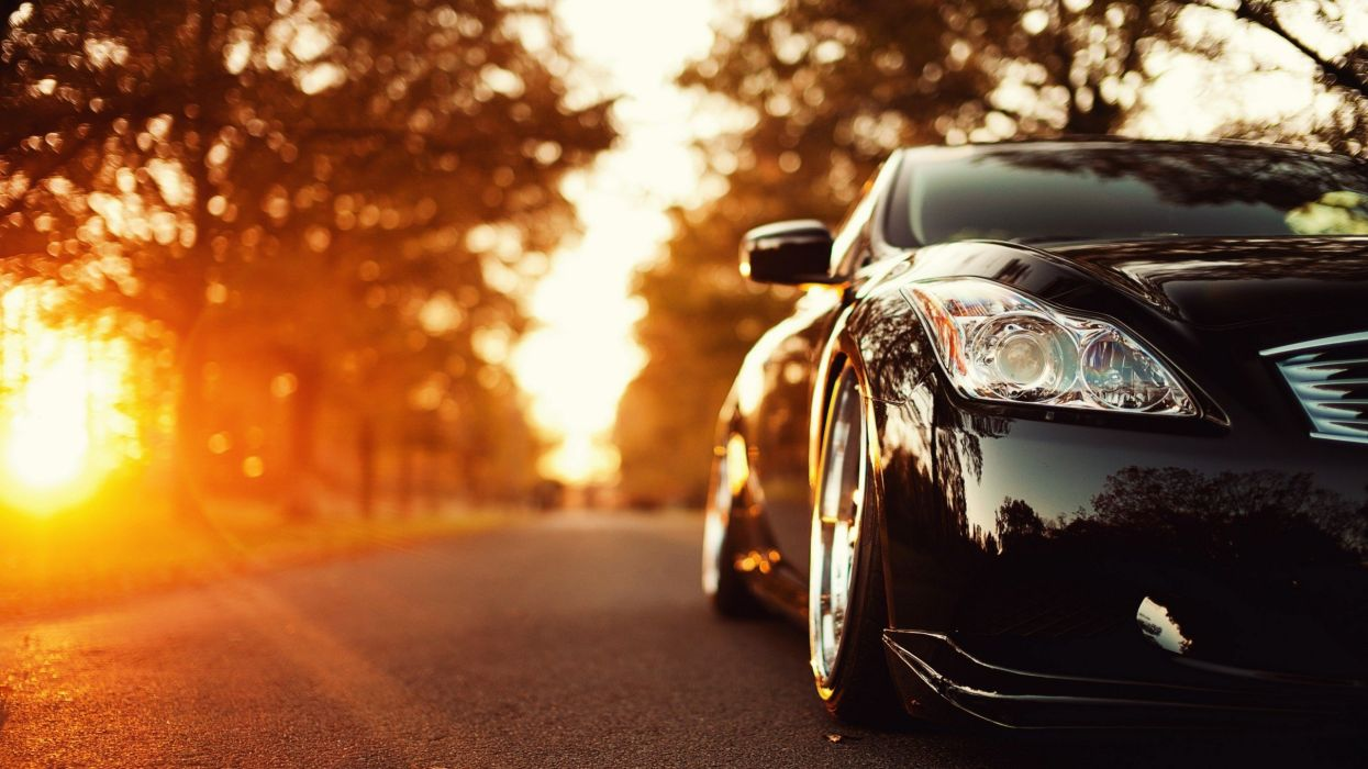 #ws Infiniti G37 Autumn Sun 2560x1440 #cars #autumn wallpaper
