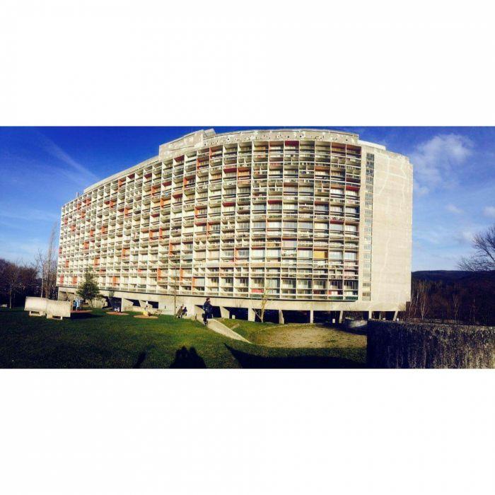 Unité d'Habitation Le Corbusier-Firminy/France wallpaper