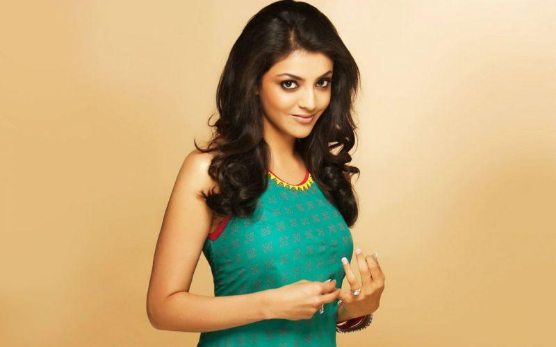 Indian-Actress-Kajal-Agarwal-Wallpaper wallpaper