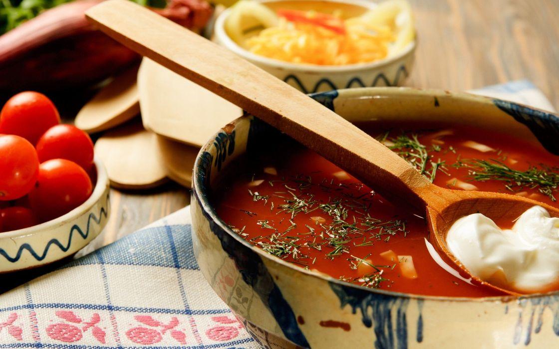 fritos salsa tomate platos salten wallpaper