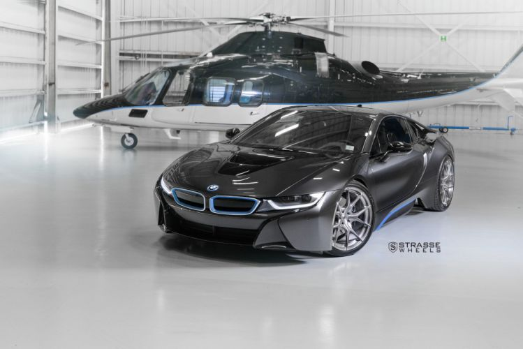 Strasse Wheels BMW i8 cars electric wallpaper