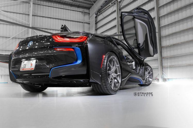 Strasse Wheels BMW i8 cars electric wallpaper