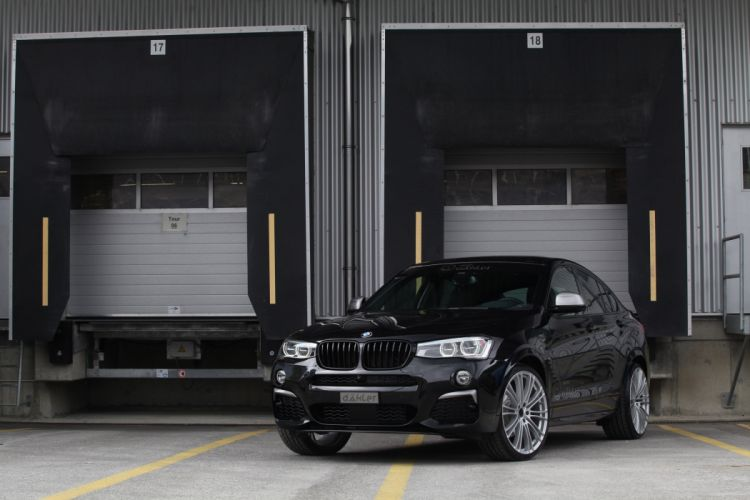 2016 dAHLer BMW X4 M40i cars suv black modified wallpaper