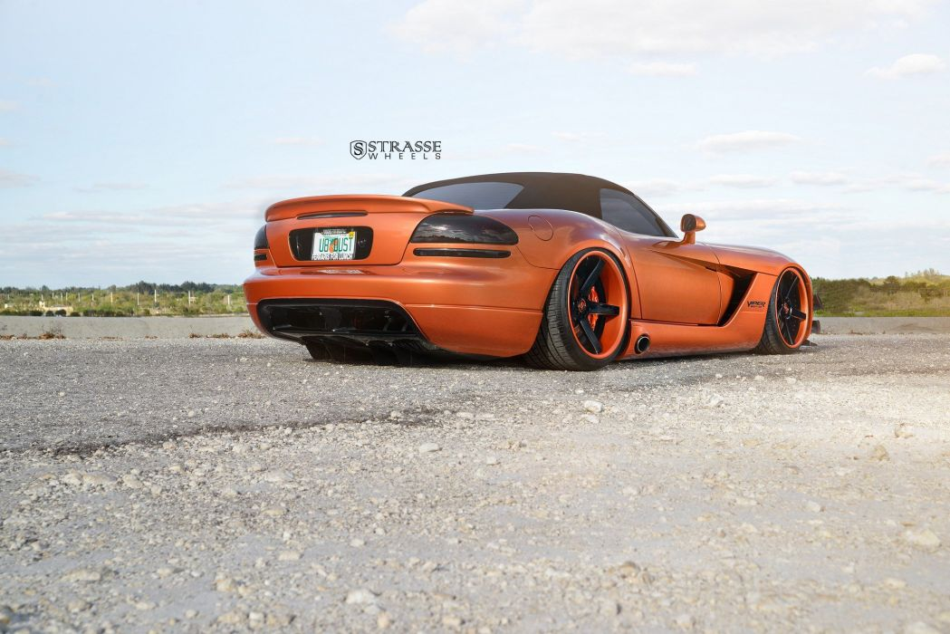 Strasse Wheels Widebody kit Dodge Viper convertible modified wallpaper