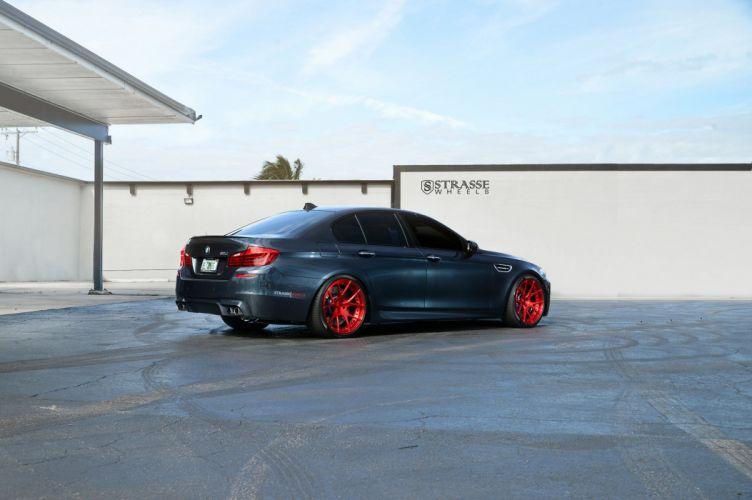 Strasse Wheels BMW M5 f10 cars sedan wallpaper