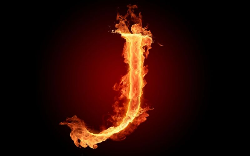 the-fiery-english-alphabet-picture-j 1920x1200 wallpaper