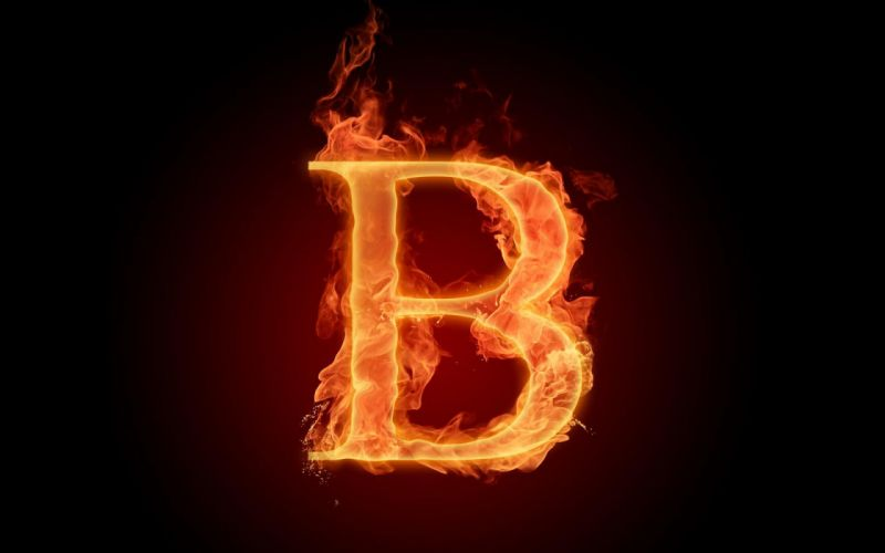 the-fiery-english-alphabet-picture-b 1920x1200 wallpaper