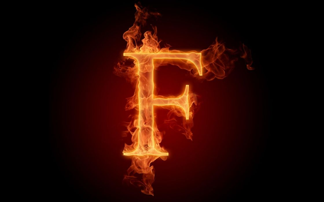 the-fiery-english-alphabet-picture-f 1920x1200 wallpaper