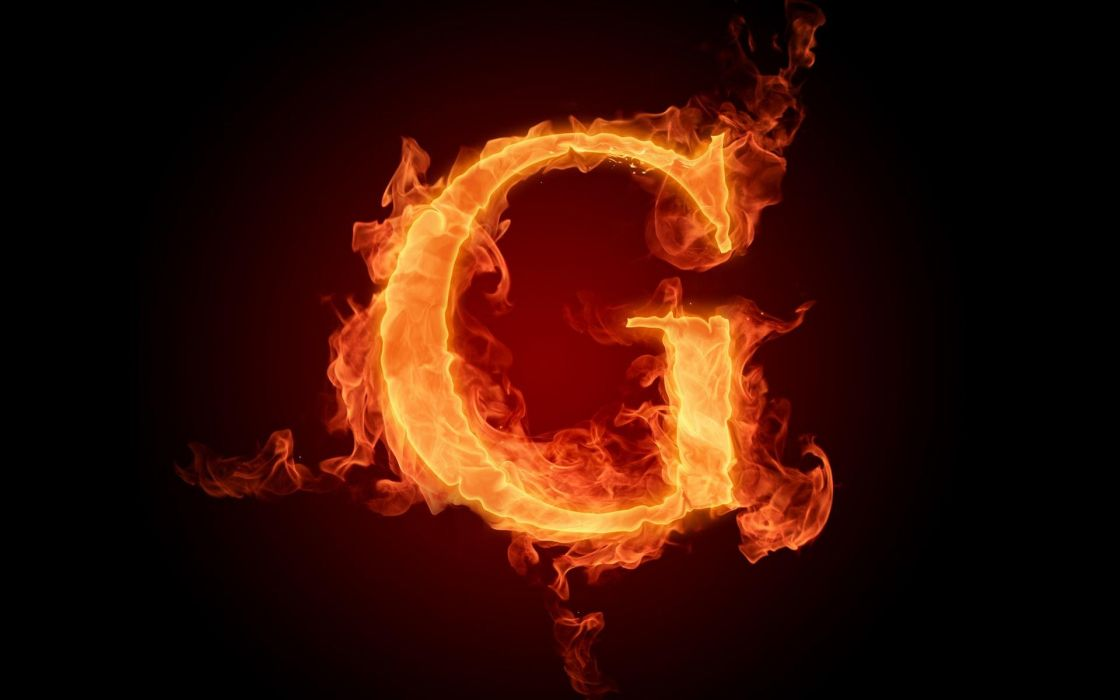 the-fiery-english-alphabet-picture-g 1920x1200 wallpaper
